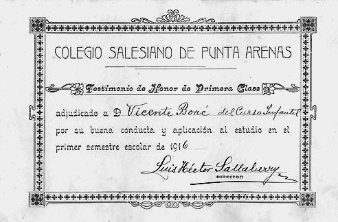 Colegios Y Escolares En La Patagonia Austral
