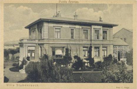 Villa de rodolfo stubenrauch punta arenas for Jardin villa austral punta arenas